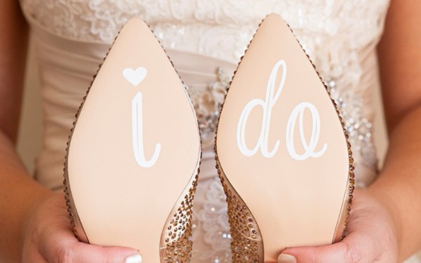 cricut wedding shoes
